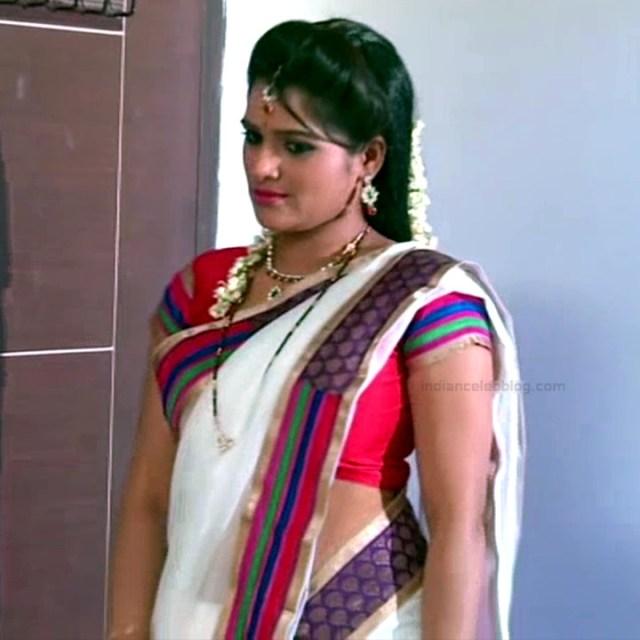 Monisha telugu tv actress Nandhini VNS1 28 hot saree photo