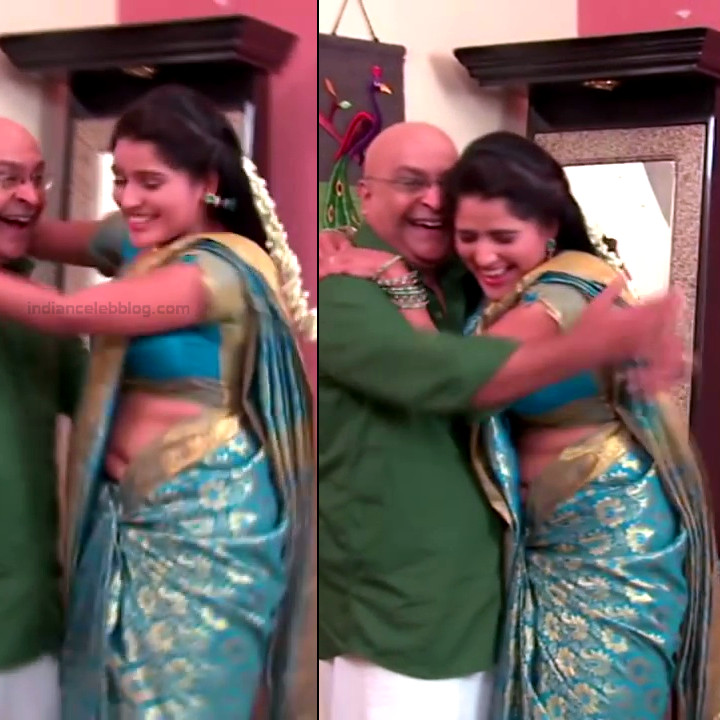 Monisha telugu tv actress Nandhini VNS1 8 hot saree navel pics