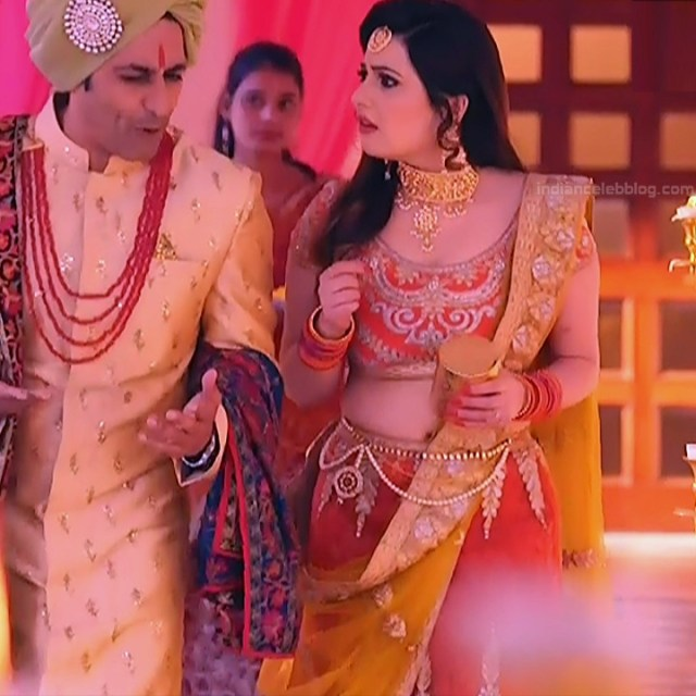 Naazuk Lochan Hindi TV actress JijiMS1 3 hot lehenga pics