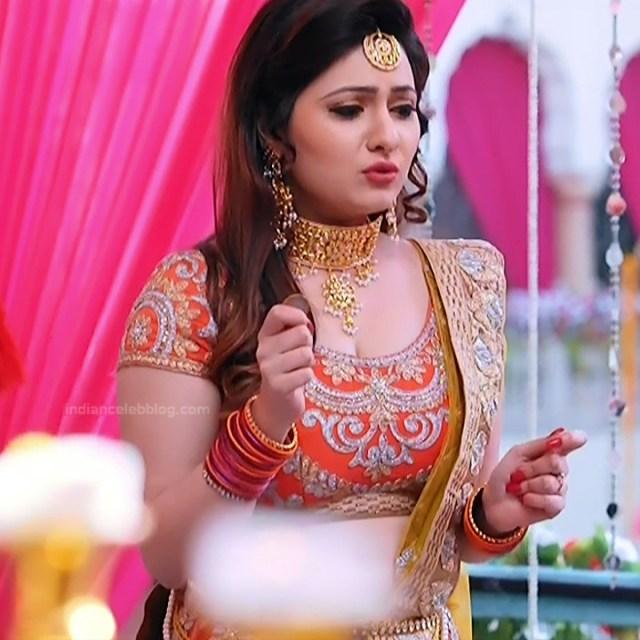 Naazuk Lochan Hindi TV actress JijiMS1 4 hot lehenga pics