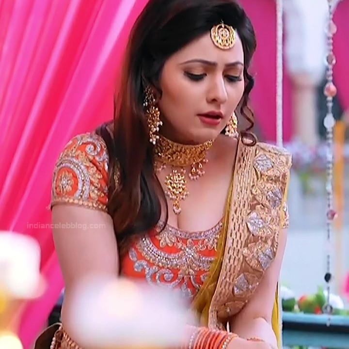 Naazuk Lochan Hindi TV actress JijiMS1 5 hot lehenga pics