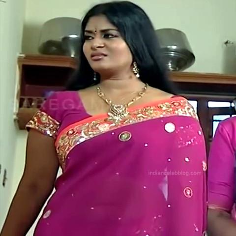 Neepa tamil tv actress PonDTS1 10 hot saree navel photo