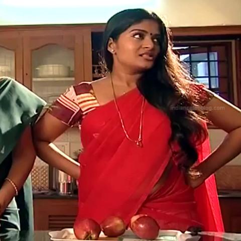 Neepa tamil tv actress PonDTS1 13 hot sari caps