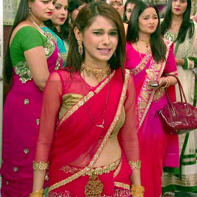 Pallavi gupta hindi tv actress CTS2 1 hot saree photo