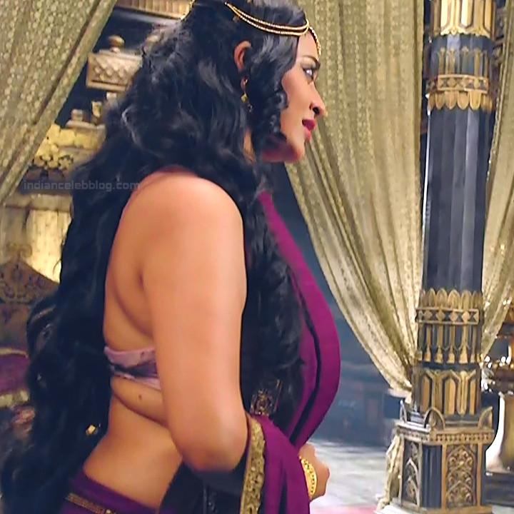 Piyali Munsi Hindi TV actress Prithvi VS2 1 hot backless photo