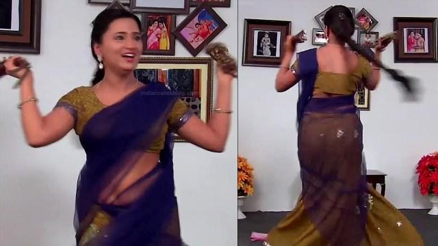 Princy B Krishnan Telugu Tv actress Kumkuma PS2 15 hot saree pics