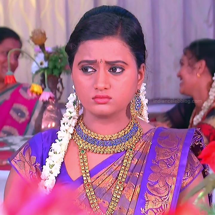 Princy B Krishnan Telugu Tv actress Kumkuma PS2 6 hot saree photo