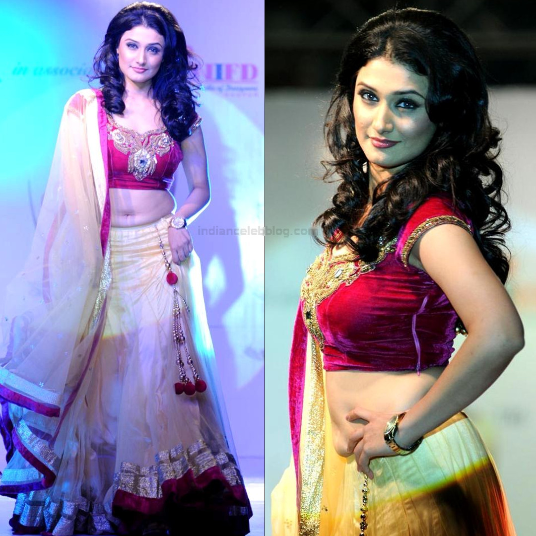 Ragini Khanna hindi tv celeb CTS2 12 hot lehenga rampwalk pics