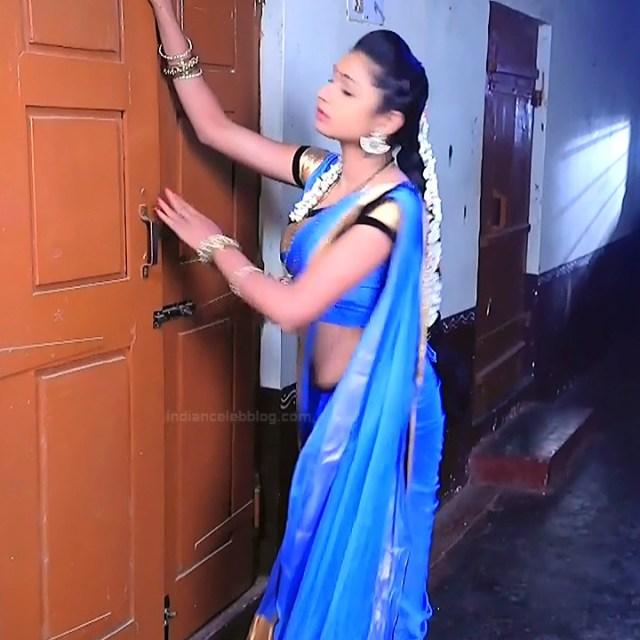 Ruthu Sai Kannada TV actress Putta GMS1 3 hot sari photo