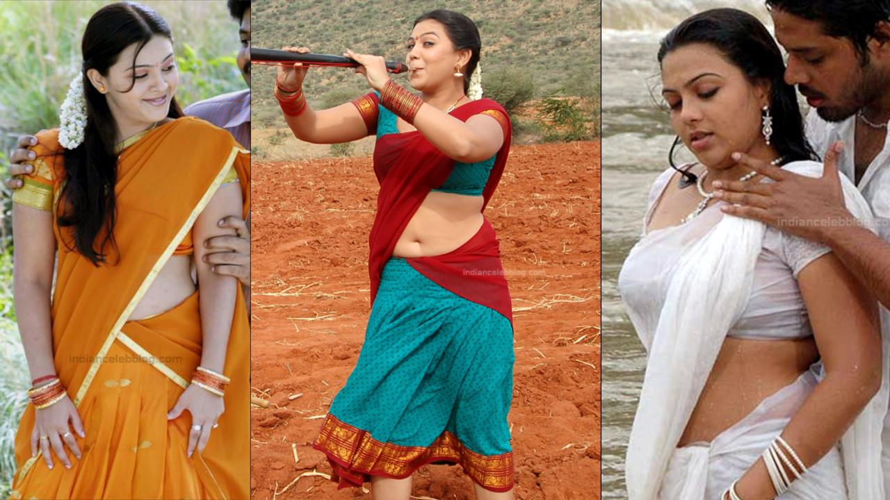 Shwetha Bandekar hot Saree stills from Kollywood movies.