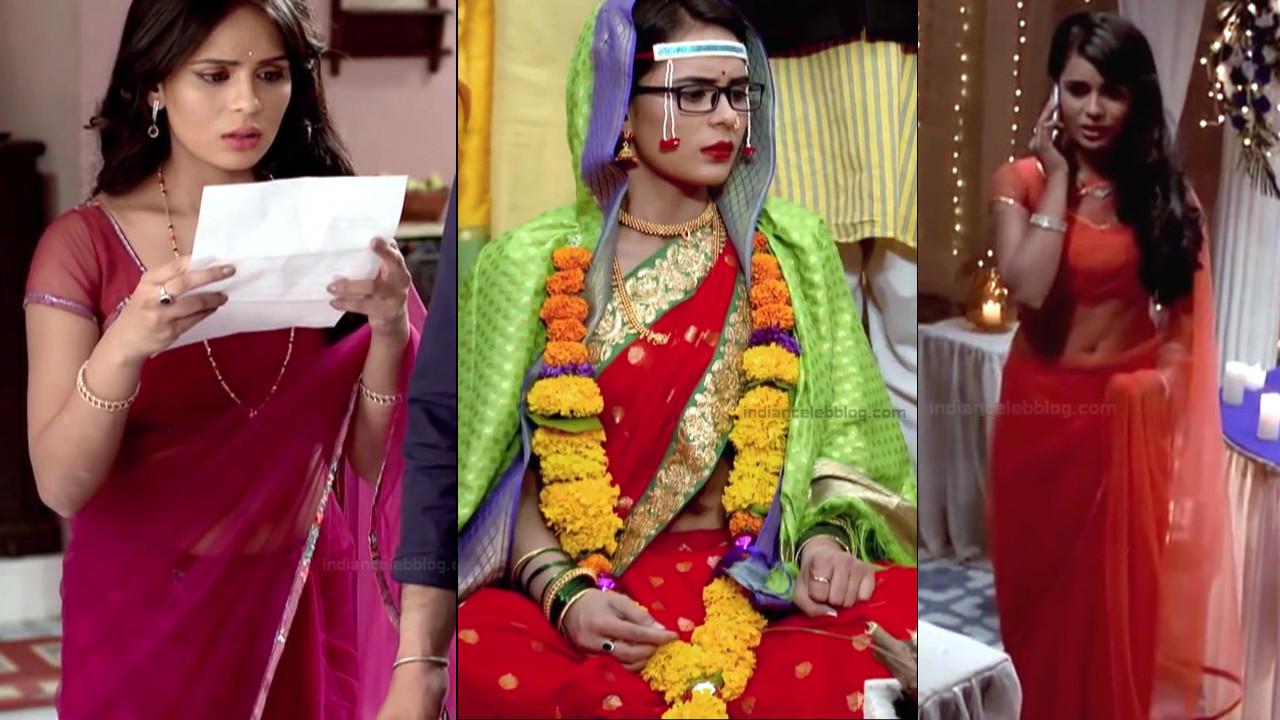 Sonal Vengurlekar sexy backless n navel show in sari