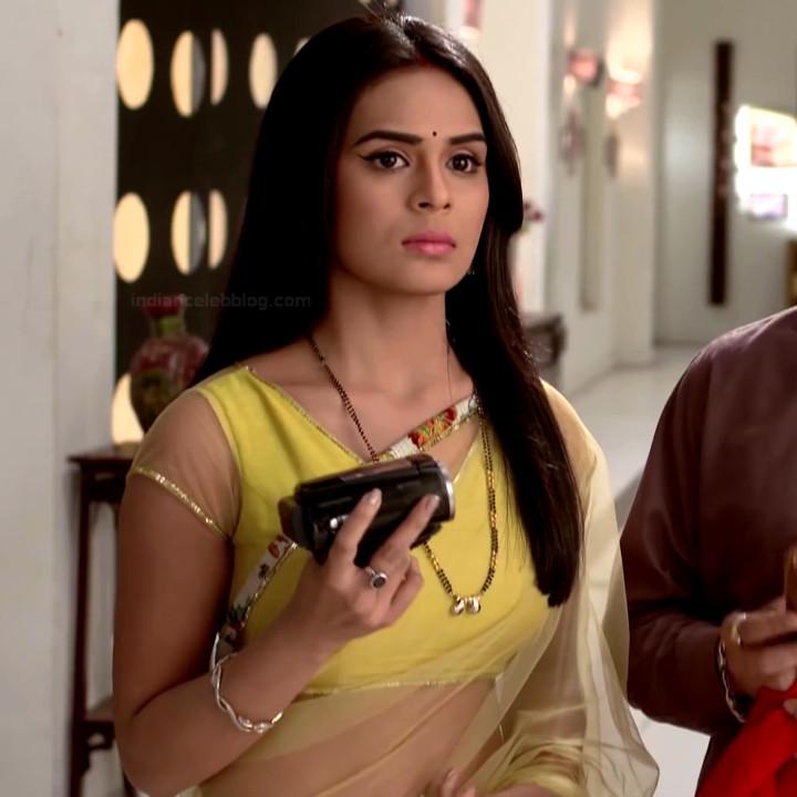 Sonal Vengurlekar TV actress Yeh VRS7 17 hot saree photo