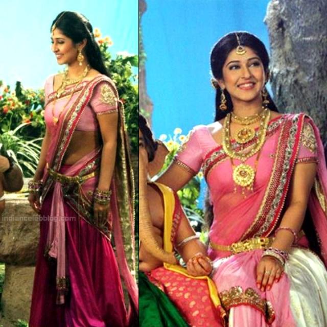 Sonarika Bhadoria Tv actress Devon ke dev CTS1_15_Hot Sari pics