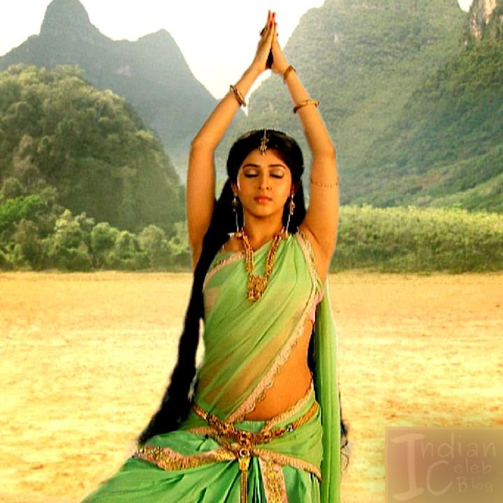 Sonarika Bhadoria Tv actress Devon ke dev CTS1_4_Hot Saree photo