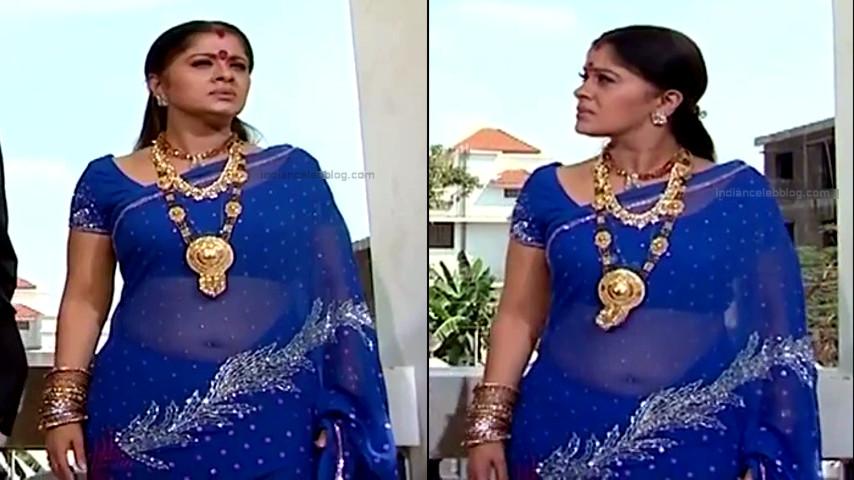 Sudha chandran tamil tv actress Pondatti TS2 7 hot saree photos