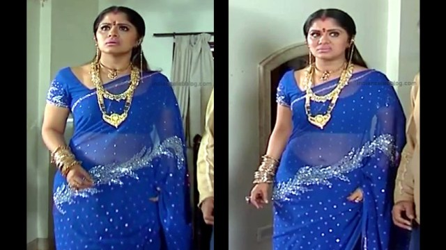 Sudha chandran tamil tv actress Pondatti TS2 9 hot sari photos