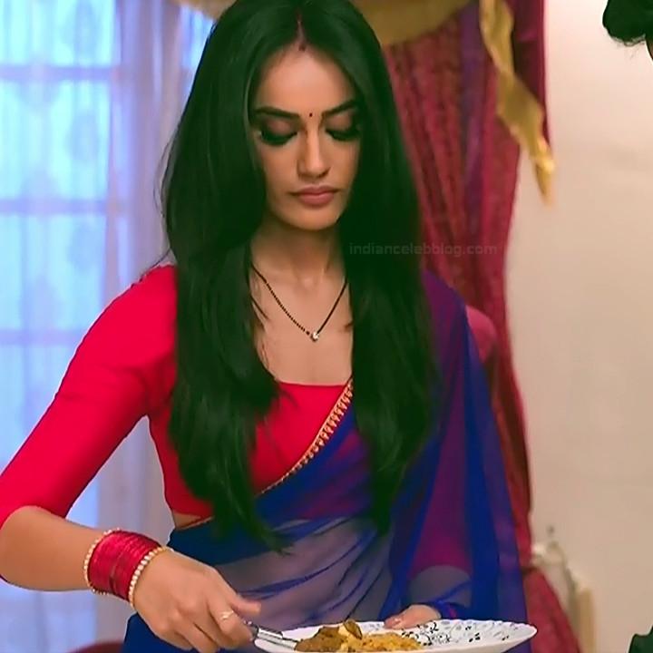 Surbhi Jyoti Hindi TV Actress Naagin 3S2 12 hot sari photo