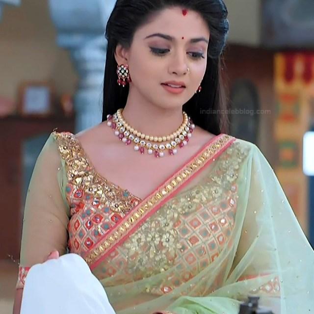 Tanvi Dogra Hindi serial actress JijiMS1 13 sari photo
