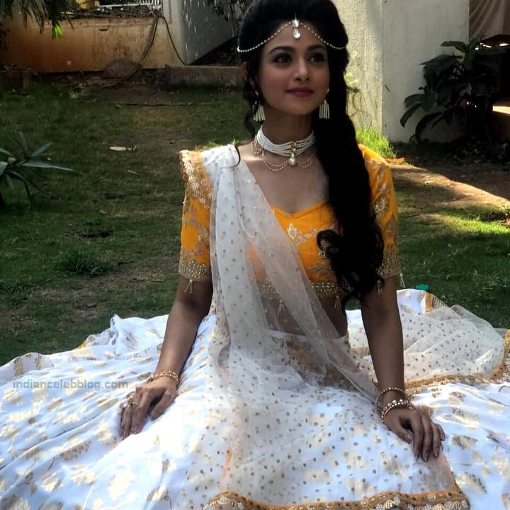 Tanvi Dogra Hindi serial actress JijiMS1 20 lehenga choli photo