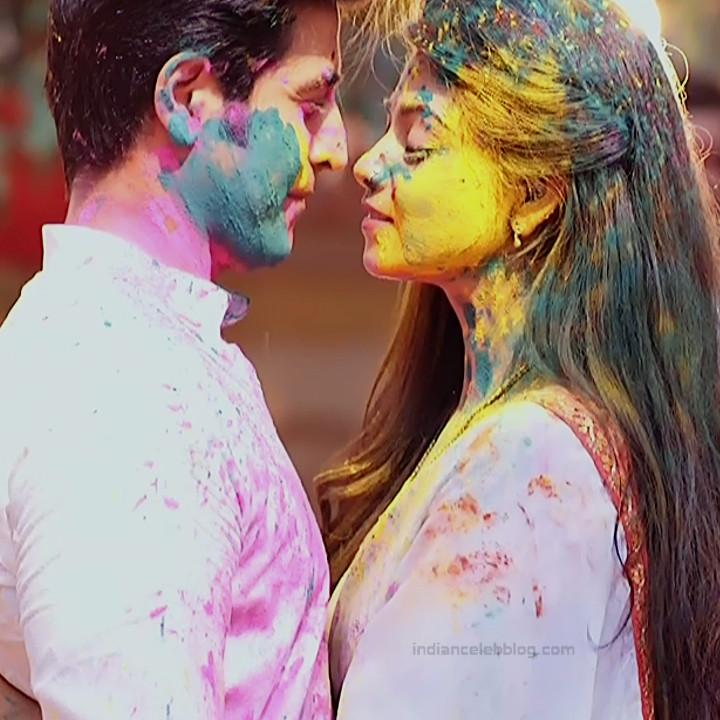 Tanvi Dogra Hindi serial actress JijiMS1 5 saree photo
