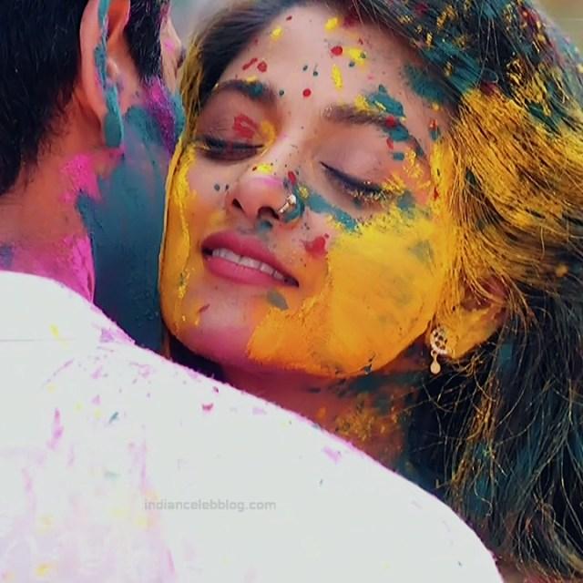 Tanvi Dogra Hindi serial actress JijiMS1 6 saree photo