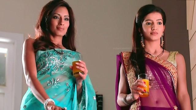 Uppekha Jain hindi tv actress Saath NSS1 6 hot saree pics