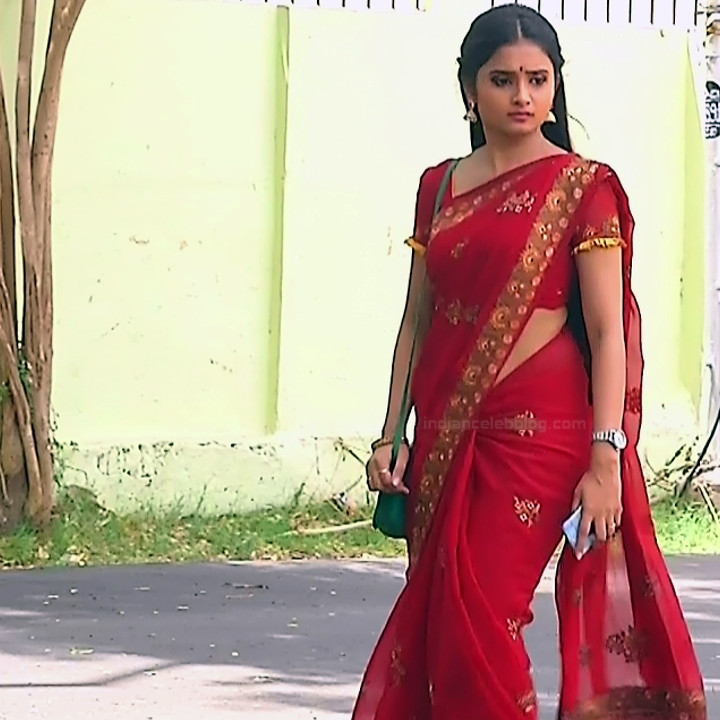 Varshini tamil tv actress sumangali S1 10 hot saree pics