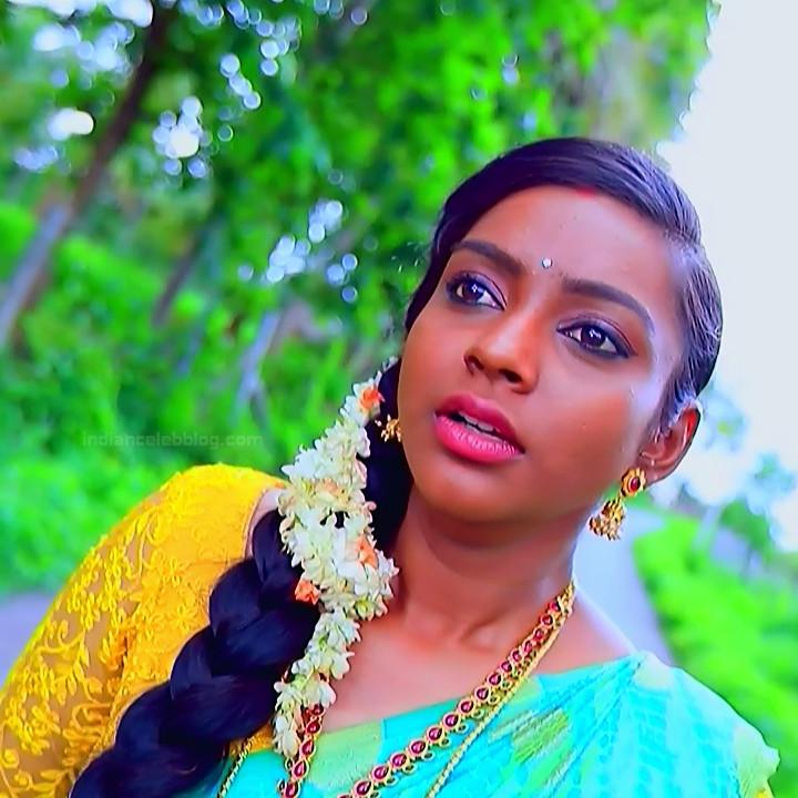 Ashwini Kannada TV actress Muddu LS1 6 sari photo