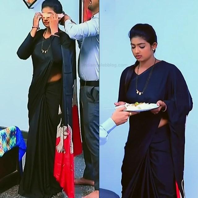 Bhoomi Shetty tv actress Kinnari S3 5 hot saree pics