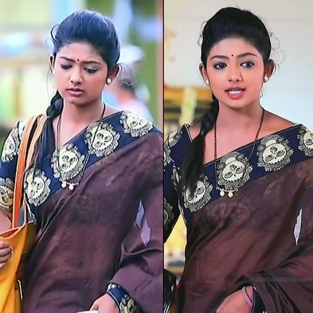 Bhoomi Shetty tv actress Kinnari S3 6 hot saree pics