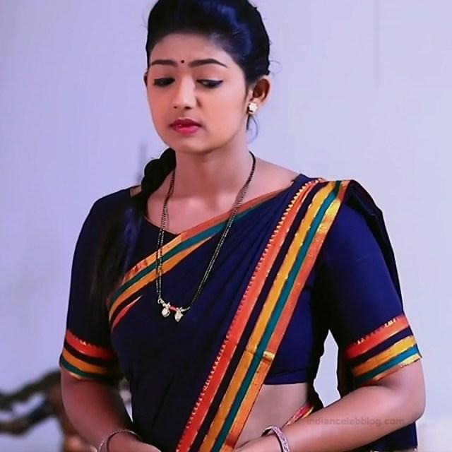 Bhoomi Shetty tv actress Kinnari S3 8 hot saree photo