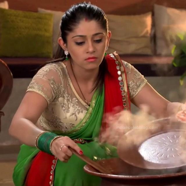 Chandni bhagwanani Hindi tv actress Tumhi HBSTS4 10 hot saree photo