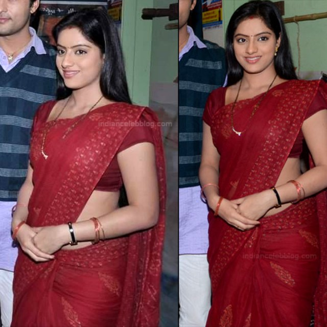 Deepika Singh Hindi TV actress event S1 1 hot saree pics