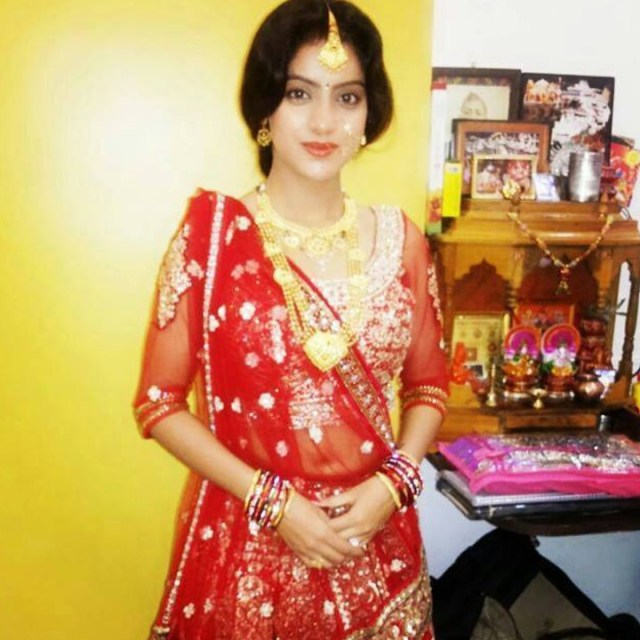 Deepika Singh Hindi TV actress event S1 11 lehenga photo