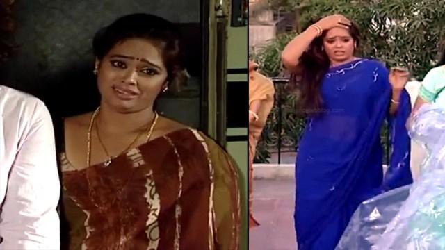 Devipriya tamil tv actress Pondatti TS1 12 hot saree pics