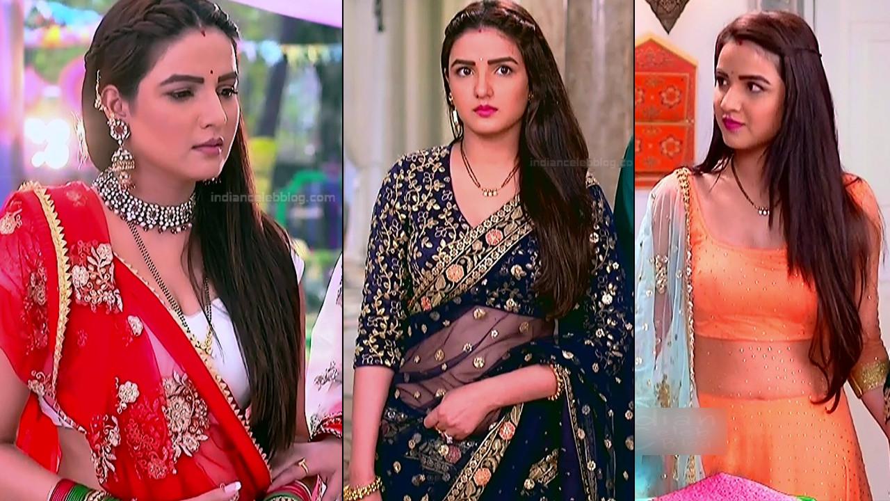 Jasmin Bhasin sexy cleavage show hindi tv hd caps