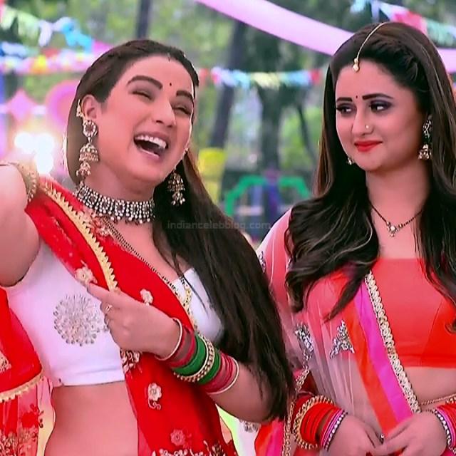 Jasmin Bhasin hindi serial actress Dil SDTS1 9 hot lehenga caps
