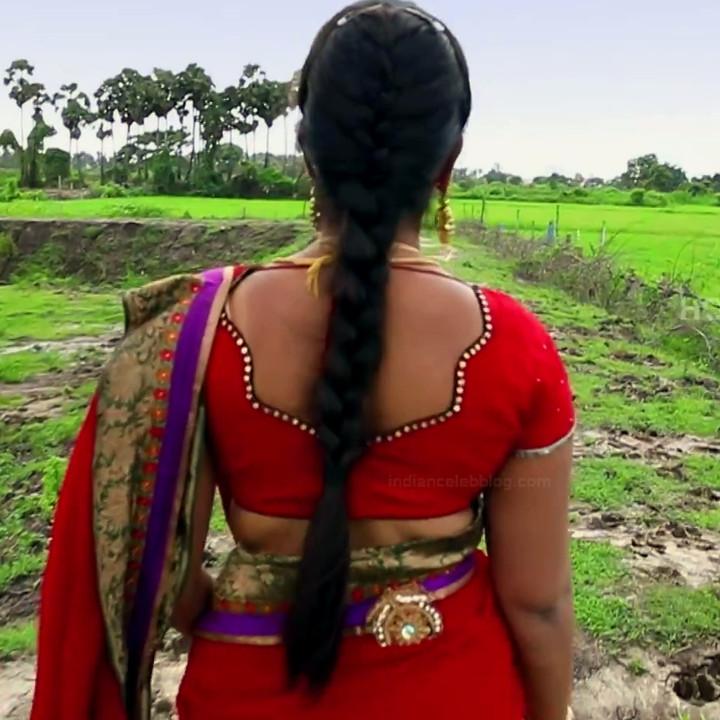 Keerthana podwal tamil tv actress ganga S1 8 hot sari photo