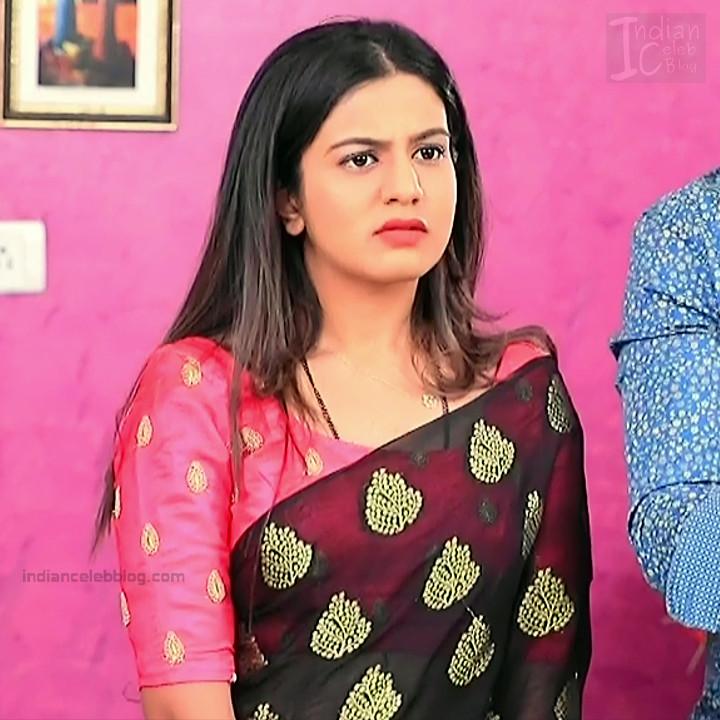 Namratha gowda kannada tv actress Putta GMS1 15 hot sari photo