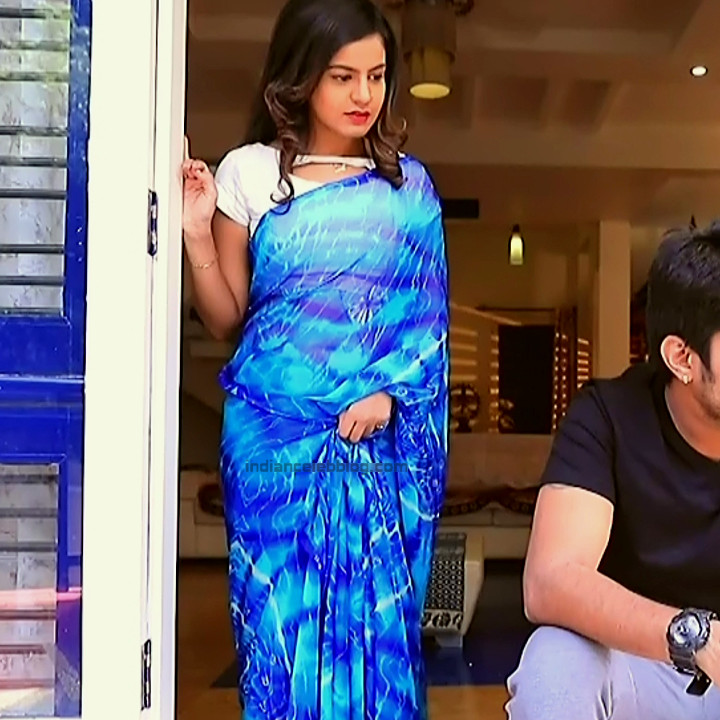 Namratha gowda kannada tv actress Putta GMS1 4 hot saree photo