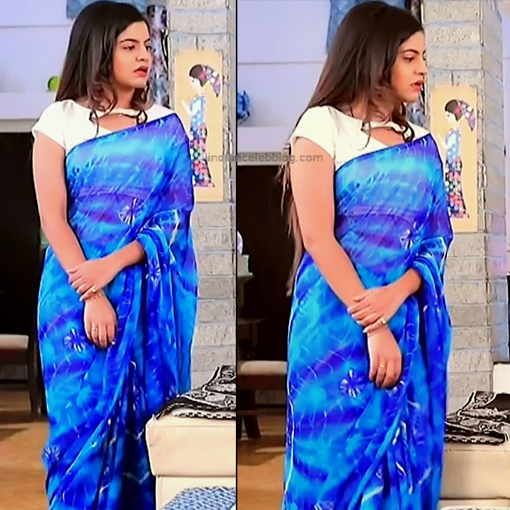 Namratha gowda kannada tv actress Putta GMS1 5 hot saree pics