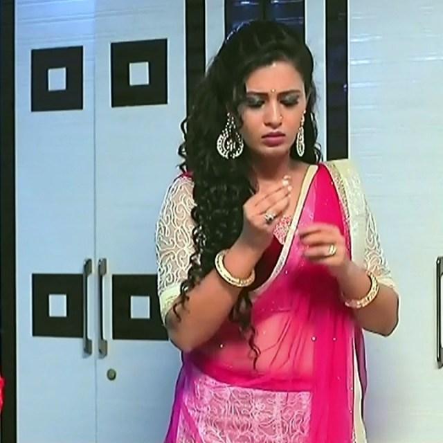 Neha Gowda Kannada tv actress Lakshmi BS1 11 hot lehenga caps