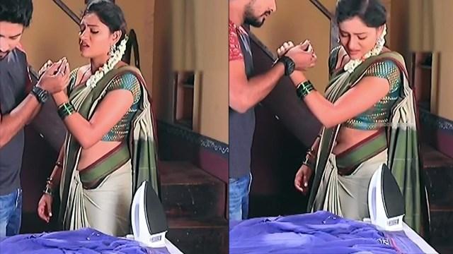 Ranjani raghavan kannada tv actress Putta GMS3 1 hot saree pics