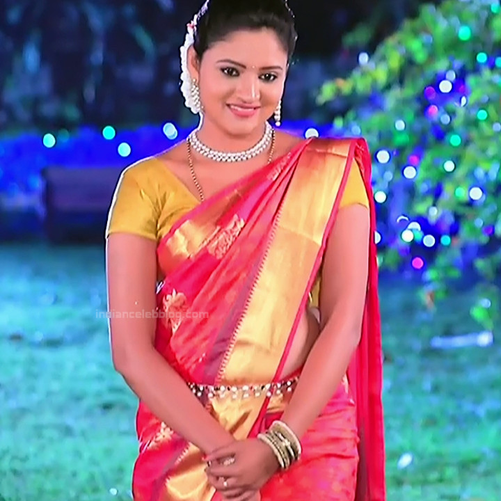 Ranjani raghavan kannada tv actress Putta GMS3 5 hot saree photo