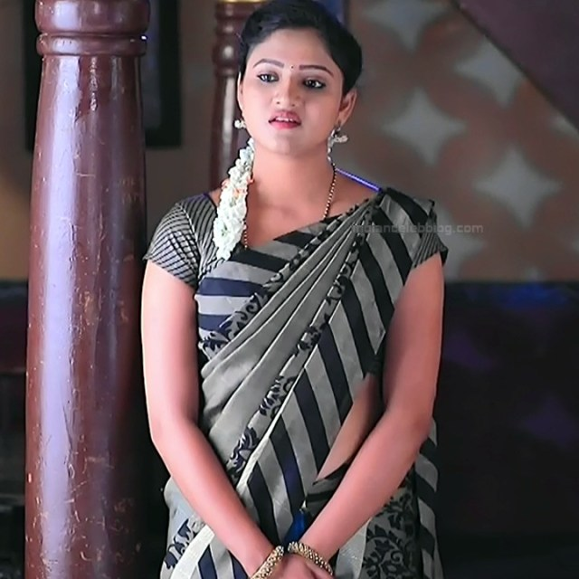 Ranjani raghavan kannada tv actress Putta GMS3 6 hot saree photo