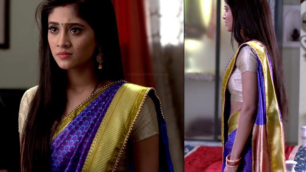 Shivangi Joshi hindi tv actress Begusarai S1 24 hot saree pics