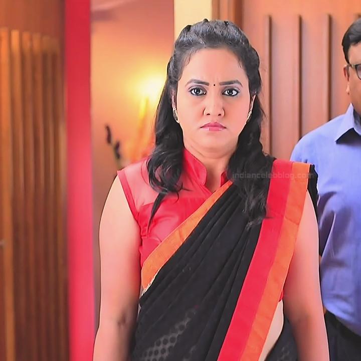 Sindhu Kalyan kannada tv actress PuttaGMS2 10 hot sari photo
