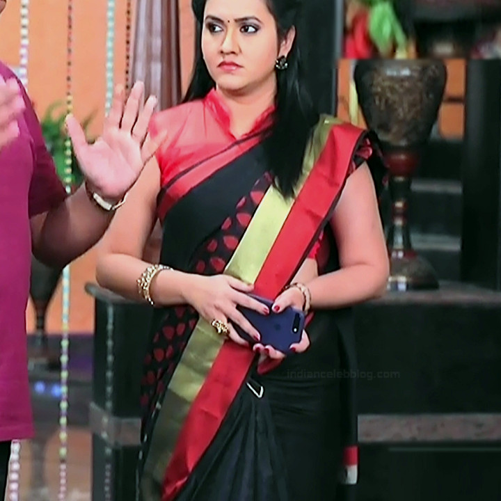 Sindhu Kalyan kannada tv actress PuttaGMS2 13 hot sari photo