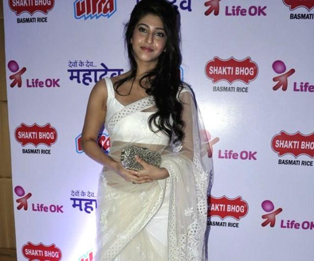Sonarika Bhadoria hindi tv actress Event CTS3 11 hot saree photo