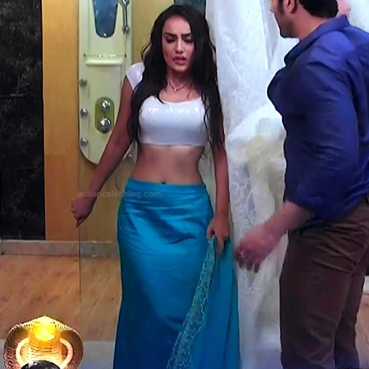 Surbhi jyoti hindi tv actress Naagin S3 10 hot sari caps